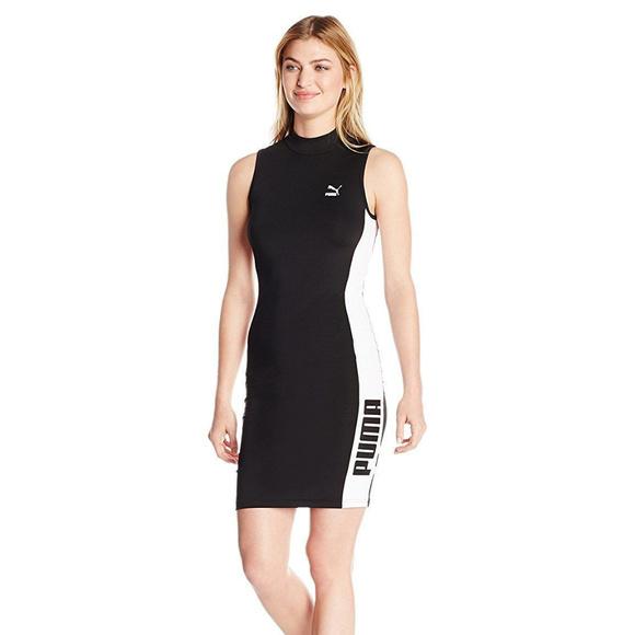 7e157e778a4 Details about Puma Womens Active T7 Dress - L